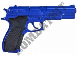 R45 Die-Cast Metal 8 Shot Toy Cap Gun with sound Police Blue
